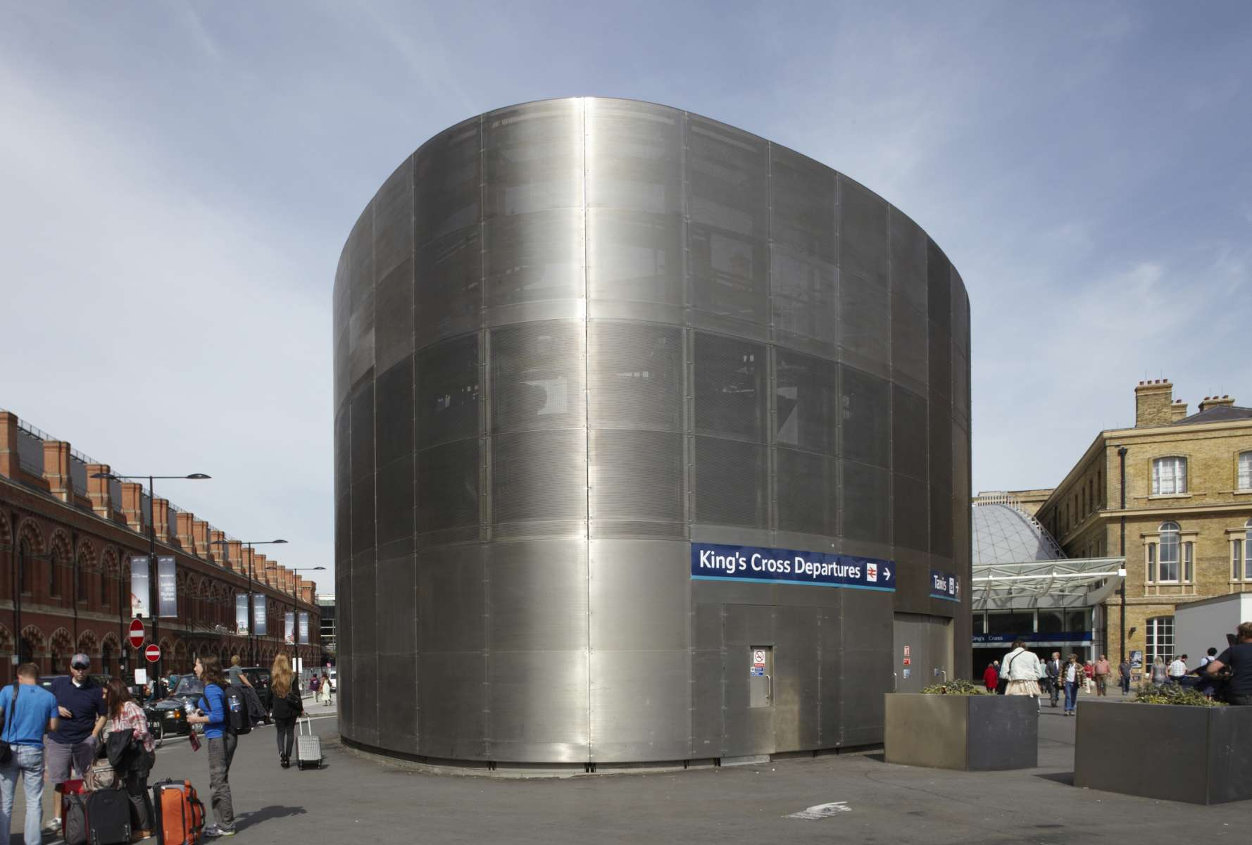 Stainless Steel Sheds : Stainless steel building structural facades