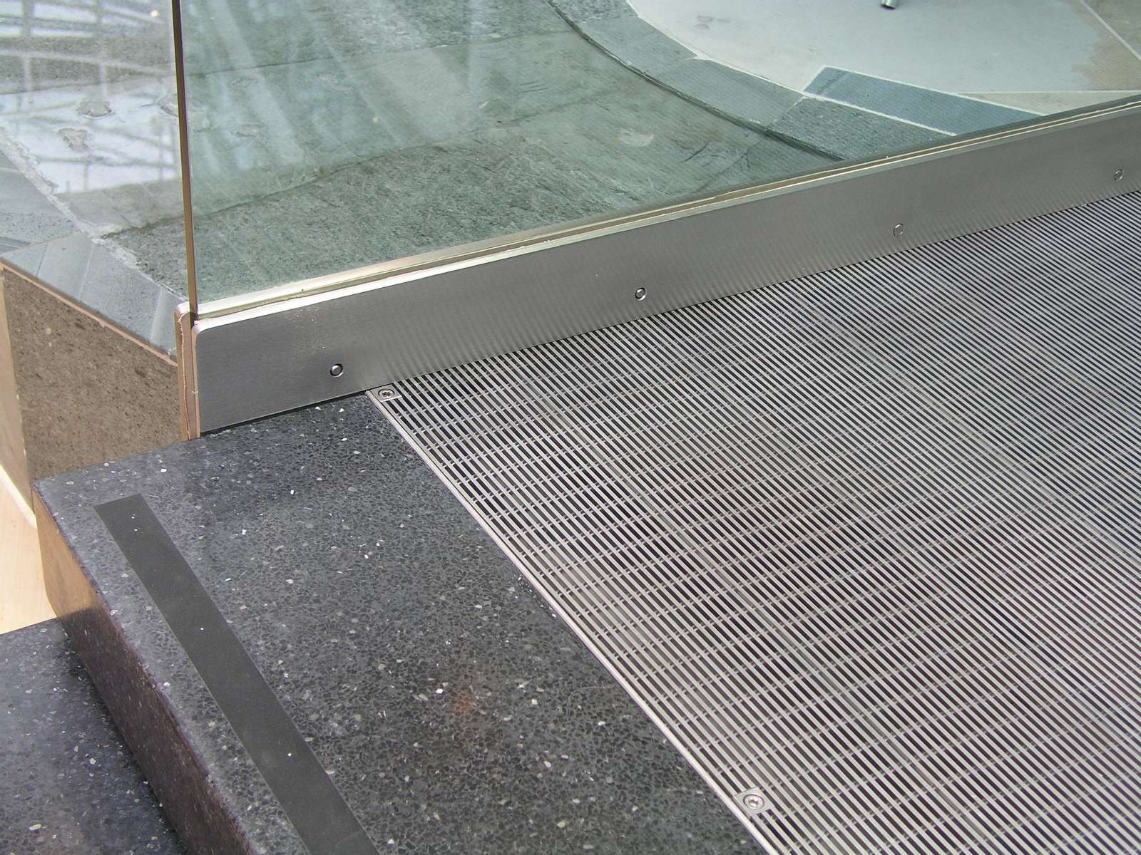Stainless steel flooring grilles for Which floor or what floor